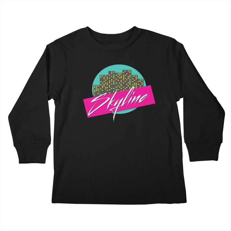 Skyline Kids Longsleeve T-Shirt by The Science Of