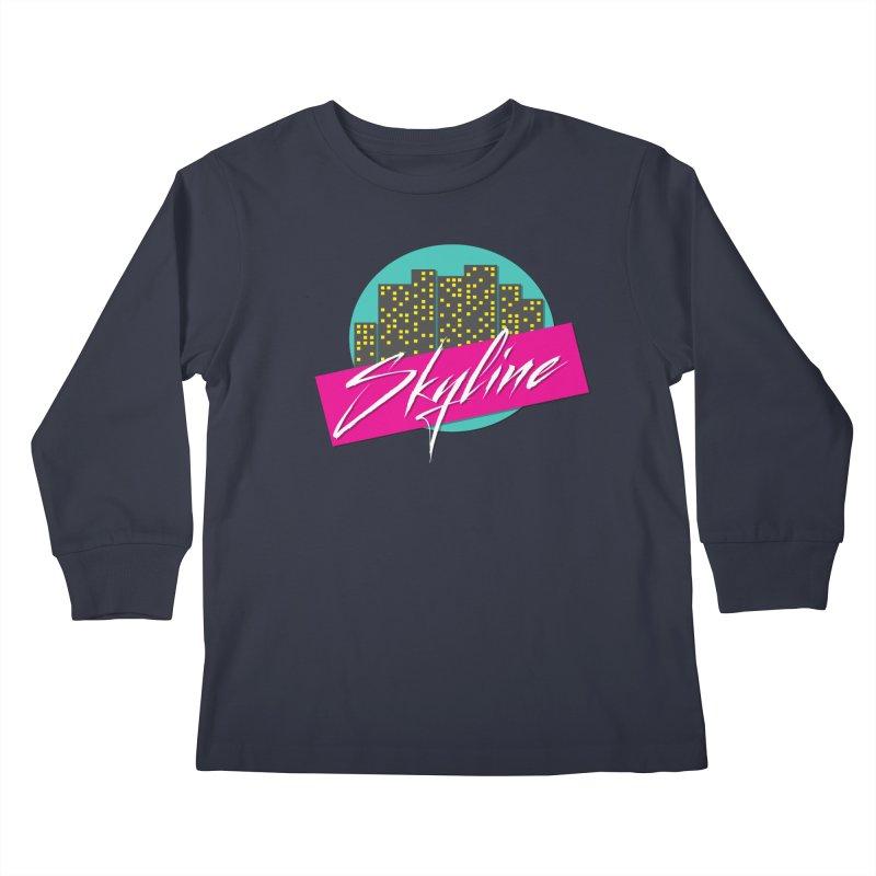 Skyline Kids Longsleeve T-Shirt by The Science Of