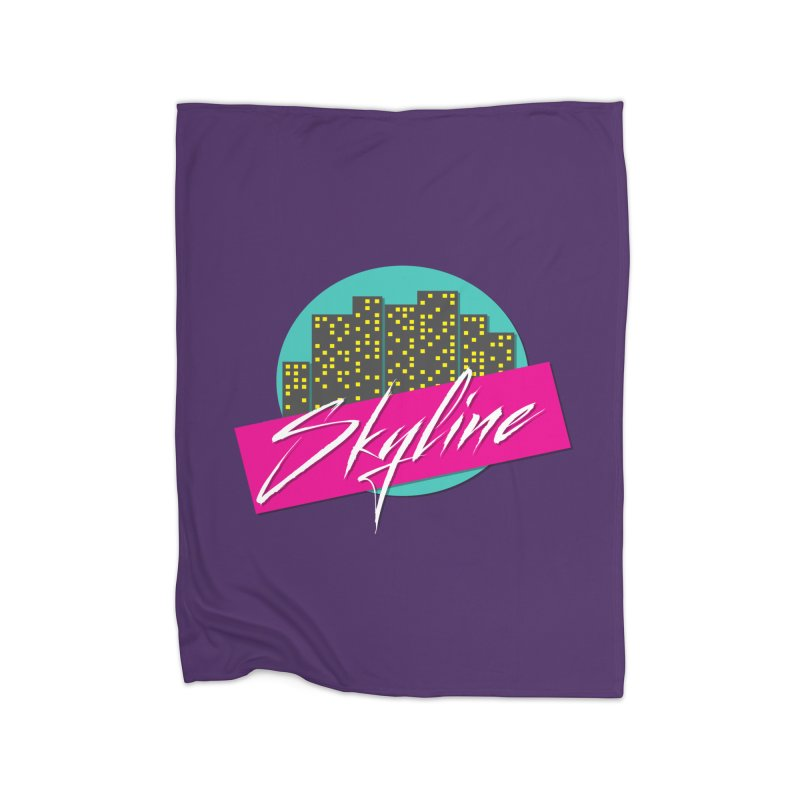 Skyline Home Blanket by The Science Of