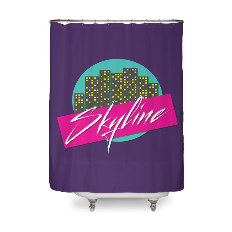 Skyline Home Shower Curtain by The Science Of