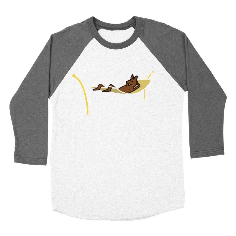 Kangaroo Women's Baseball Triblend T-Shirt by The Science Of