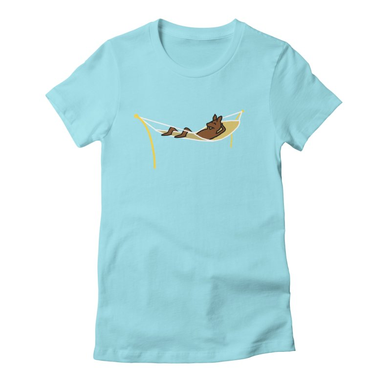 Kangaroo Women's Fitted T-Shirt by The Science Of