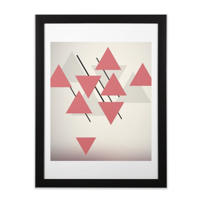 Abstraction Home Framed Fine Art Print by The Science Of