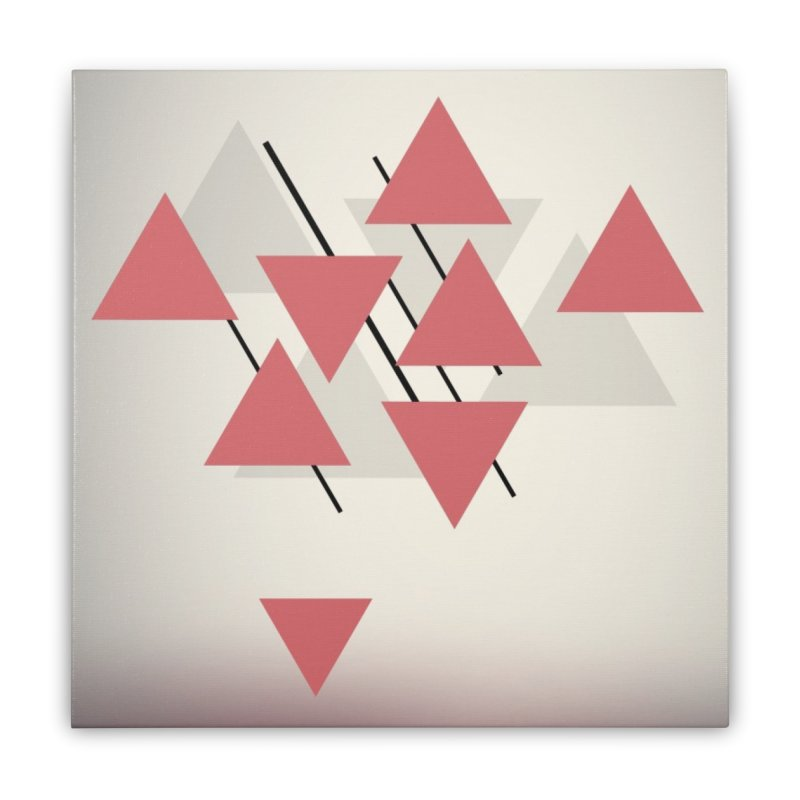 Abstraction Home Stretched Canvas by The Science Of
