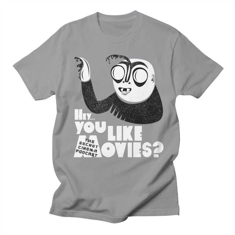 hey...you like movies? Men's Regular T-Shirt by The Secret Cinema Podcast Shop