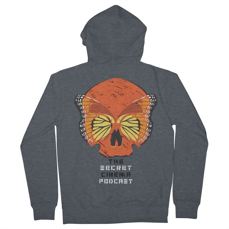 the butterfly effect Men's French Terry Zip-Up Hoody by The Secret Cinema Podcast Shop