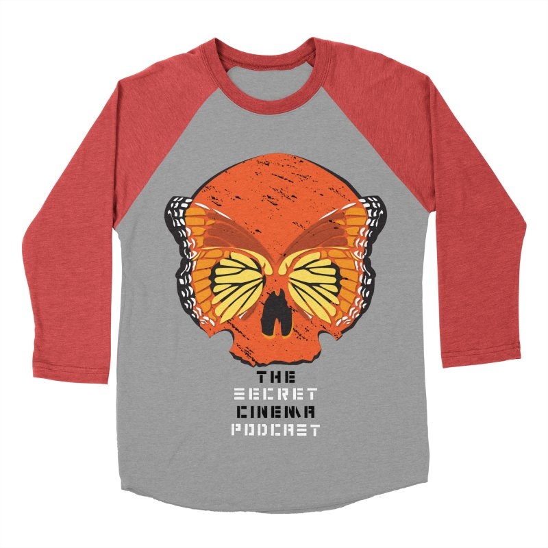 the butterfly effect Women's Baseball Triblend Longsleeve T-Shirt by The Secret Cinema Podcast Shop