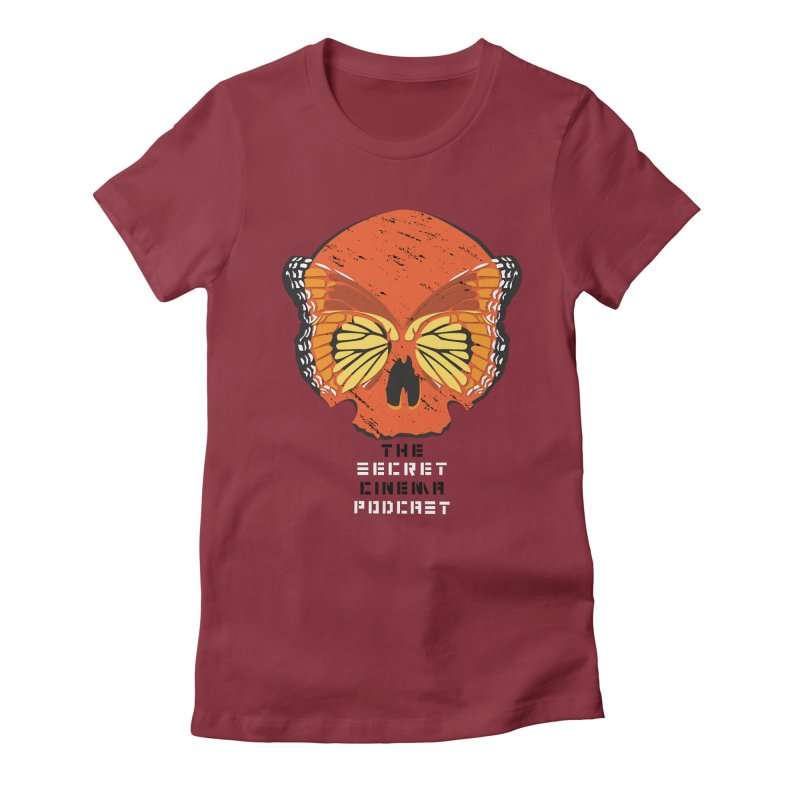 the butterfly effect Women's Fitted T-Shirt by The Secret Cinema Podcast Shop