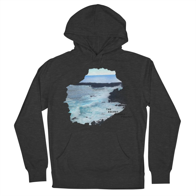 the secret cinema podcast : island edition Women's French Terry Pullover Hoody by The Secret Cinema Podcast Shop