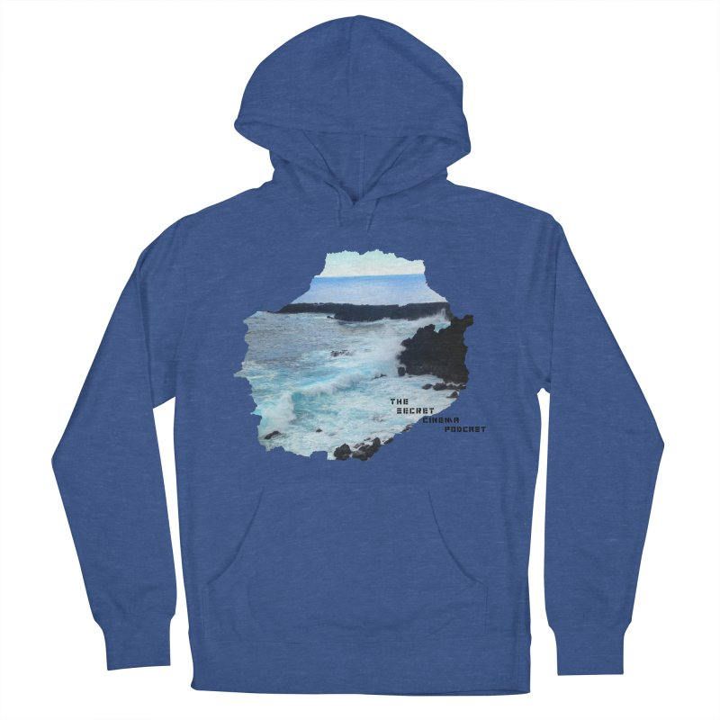 the secret cinema podcast : island edition Men's French Terry Pullover Hoody by The Secret Cinema Podcast Shop