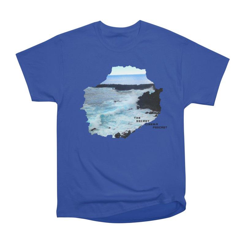 the secret cinema podcast : island edition Men's Heavyweight T-Shirt by The Secret Cinema Podcast Shop