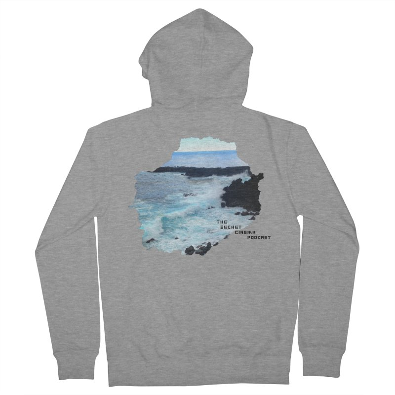 the secret cinema podcast : island edition Women's French Terry Zip-Up Hoody by The Secret Cinema Podcast Shop