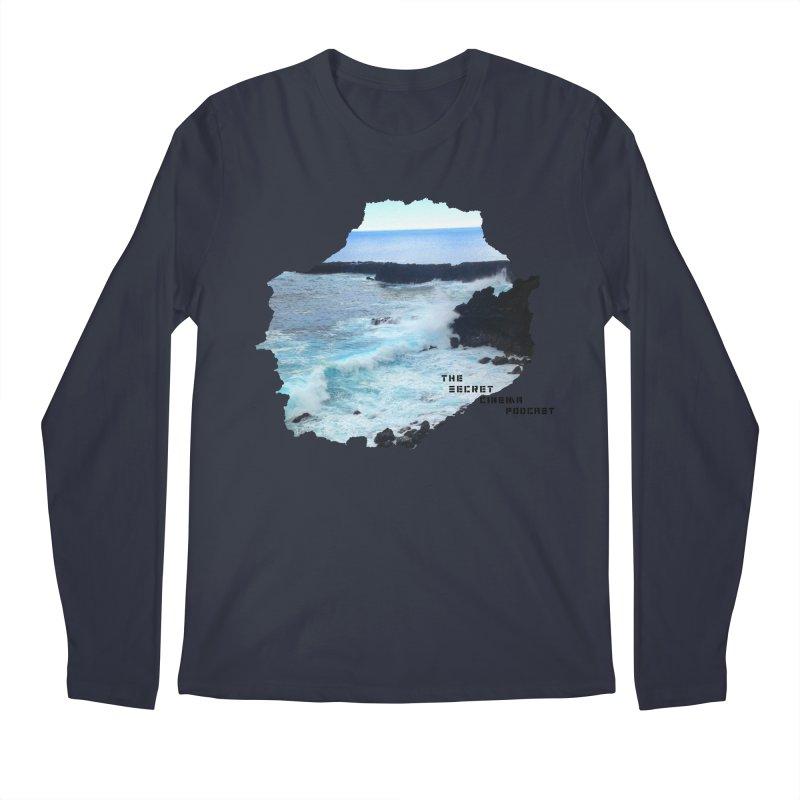 the secret cinema podcast : island edition Men's Regular Longsleeve T-Shirt by The Secret Cinema Podcast Shop