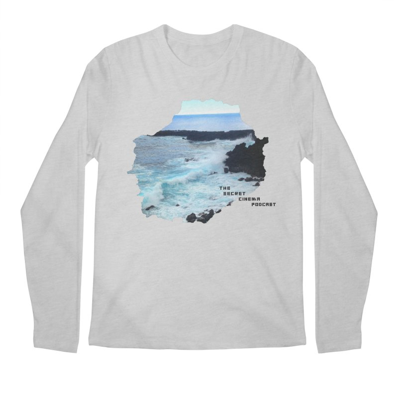 the secret cinema podcast : island edition Men's Regular Longsleeve T-Shirt by The Secret Cinema Podcast Shop
