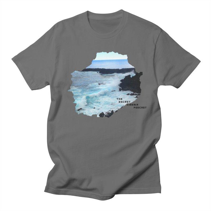 the secret cinema podcast : island edition Men's T-Shirt by The Secret Cinema Podcast Shop