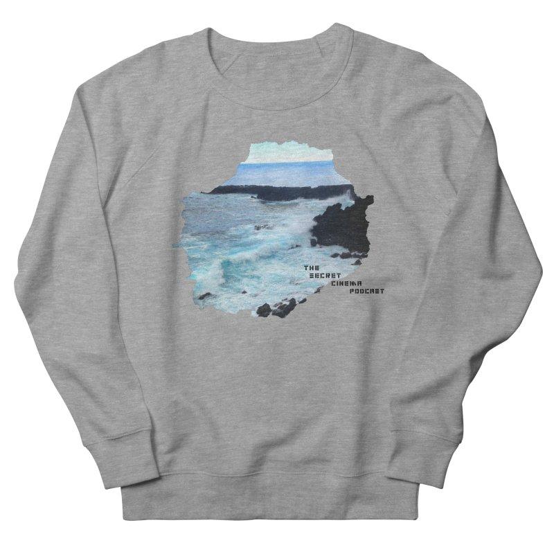 the secret cinema podcast : island edition Women's French Terry Sweatshirt by The Secret Cinema Podcast Shop