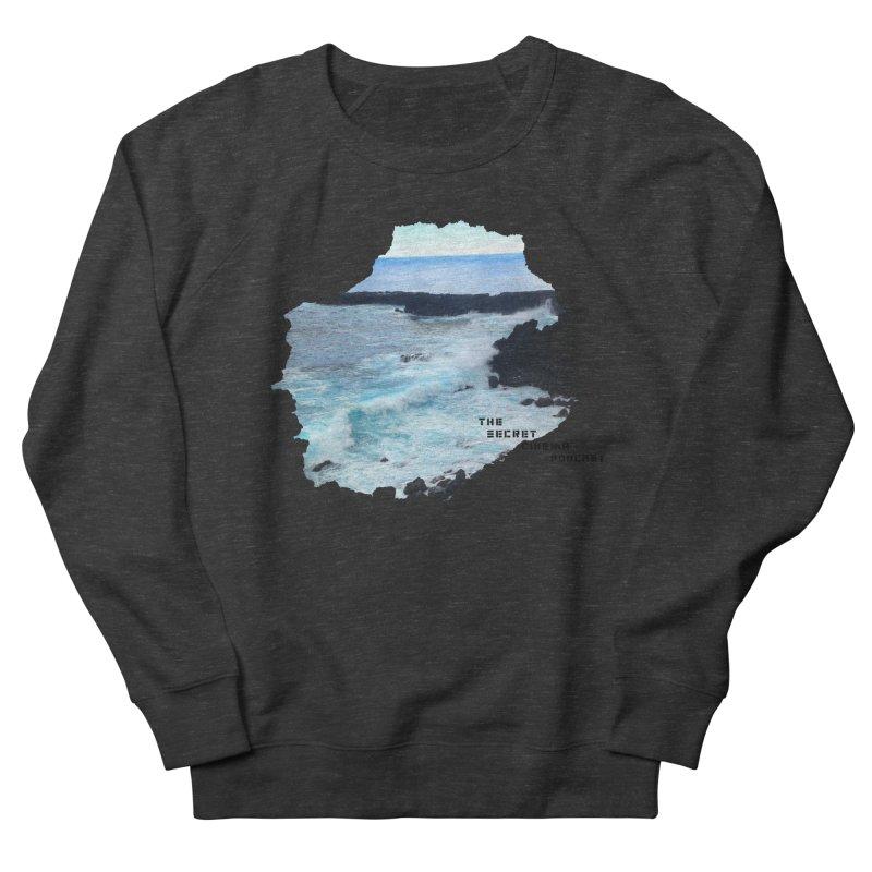 the secret cinema podcast : island edition Men's French Terry Sweatshirt by The Secret Cinema Podcast Shop