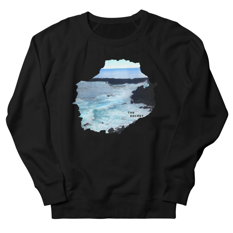 the secret cinema podcast : island edition Men's French Terry Sweatshirt by The Secret Cinema Podcast Shop