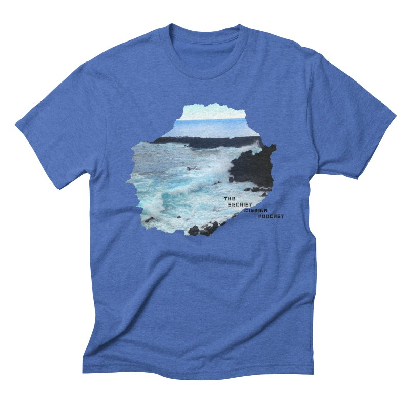 the secret cinema podcast : island edition Men's Triblend T-Shirt by The Secret Cinema Podcast Shop