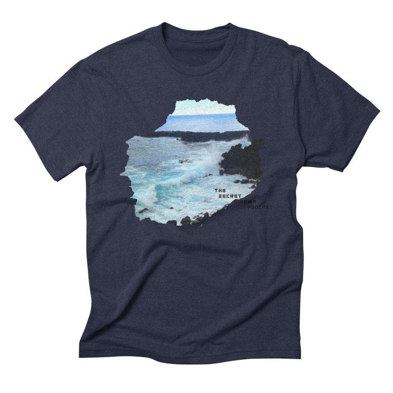 the secret cinema podcast : island edition Men's Triblend T-Shirt by The Secret Cinema Podcast Shop