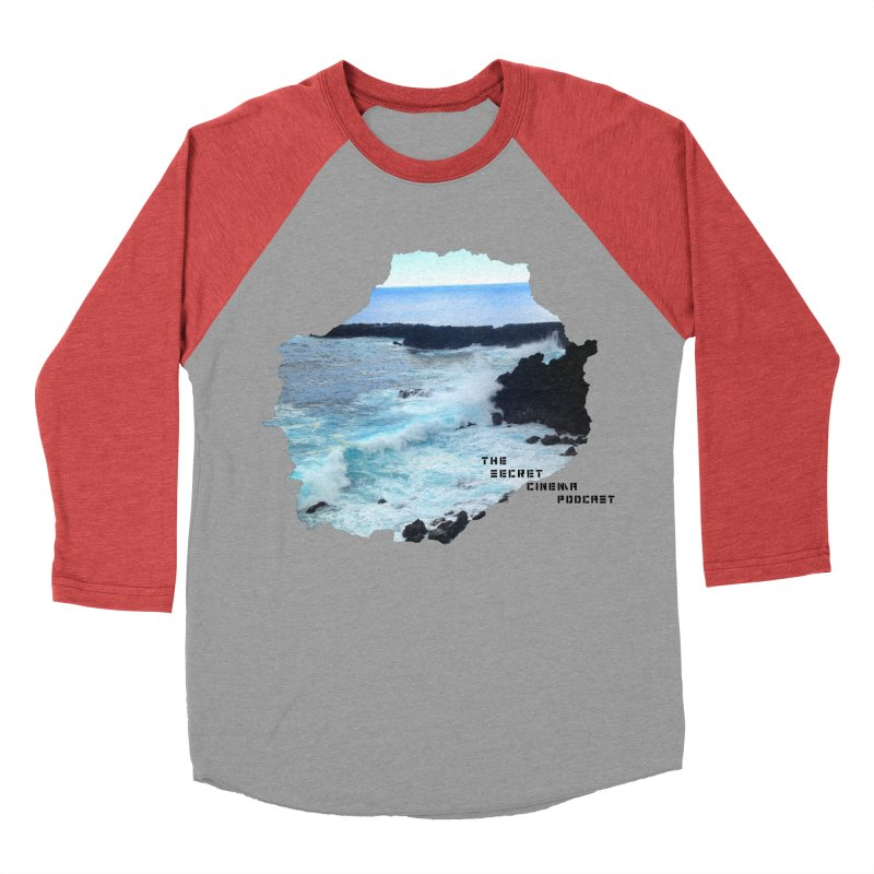the secret cinema podcast : island edition Women's Baseball Triblend Longsleeve T-Shirt by The Secret Cinema Podcast Shop