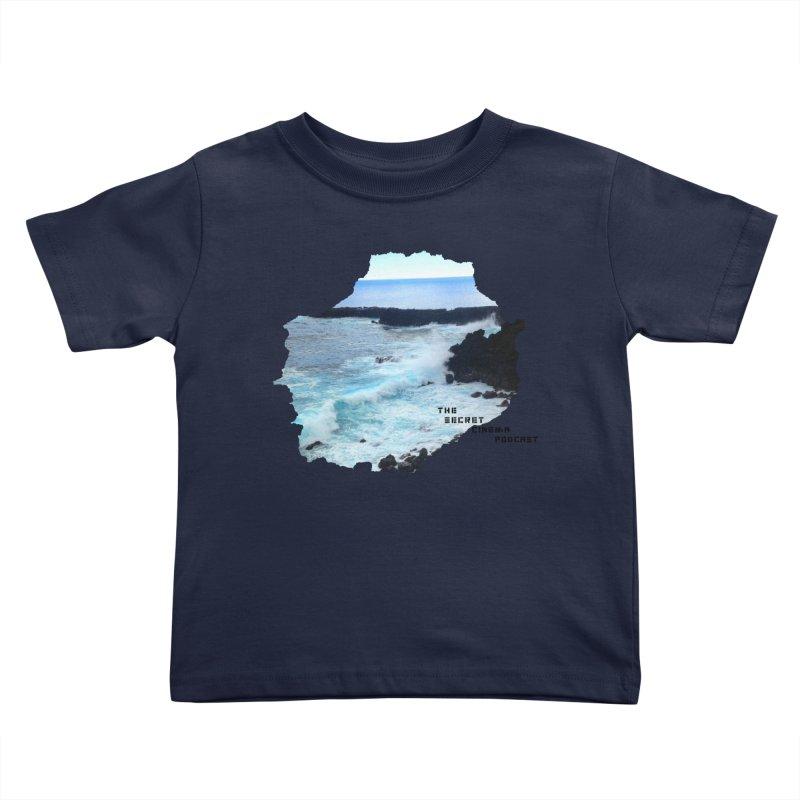 the secret cinema podcast : island edition Kids Toddler T-Shirt by The Secret Cinema Podcast Shop