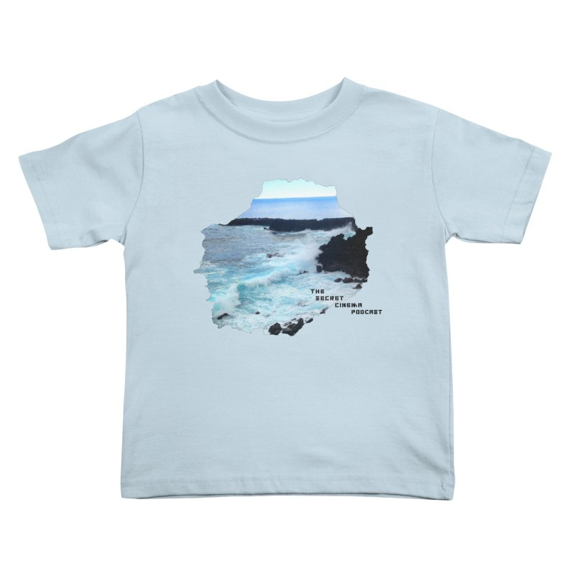 the secret cinema podcast : island edition Kids Toddler T-Shirt by The Secret Cinema Podcast Shop
