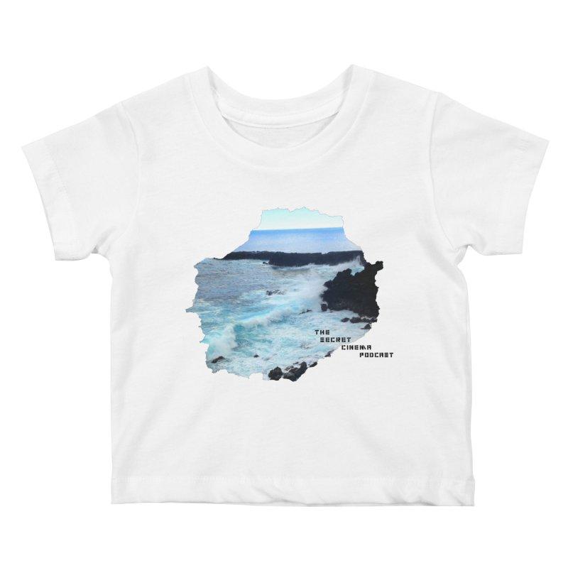 the secret cinema podcast : island edition Kids Baby T-Shirt by The Secret Cinema Podcast Shop