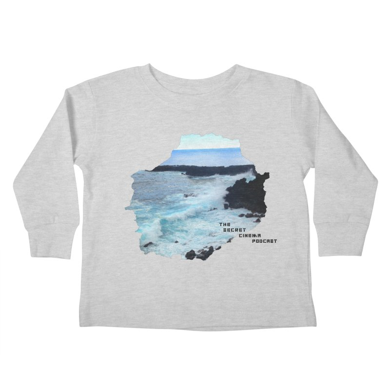 the secret cinema podcast : island edition Kids Toddler Longsleeve T-Shirt by The Secret Cinema Podcast Shop