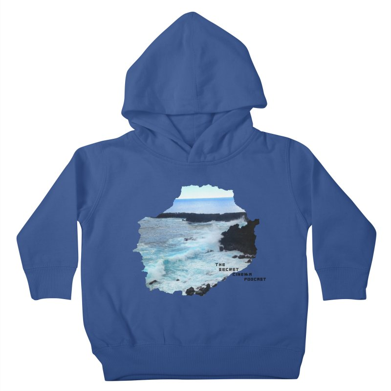 the secret cinema podcast : island edition Kids Toddler Pullover Hoody by The Secret Cinema Podcast Shop