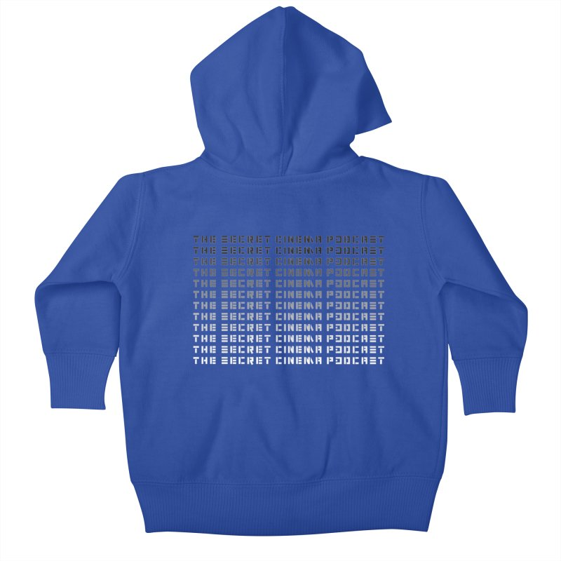 The Secret Cinema Podcast (fade out) Kids Baby Zip-Up Hoody by The Secret Cinema Podcast Shop