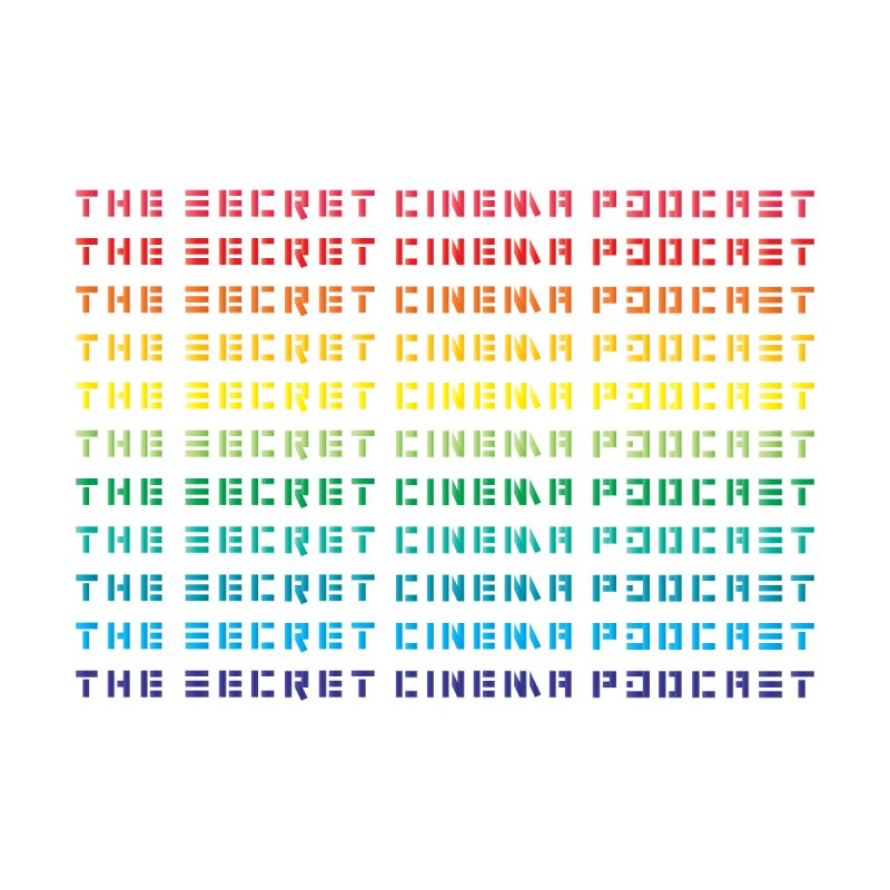 The Secret Cinema Podcast (rainbow)  Women's T-Shirt by The Secret Cinema Podcast Shop