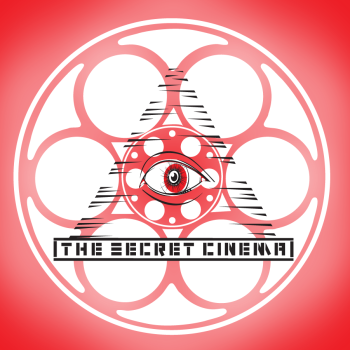 The Secret Cinema Podcast Shop Logo