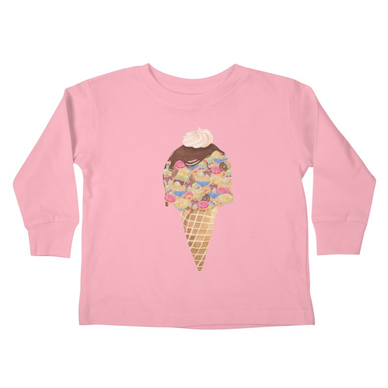 Tee Perfect Dessert Kids Toddler Longsleeve T-Shirt by Lost in Space