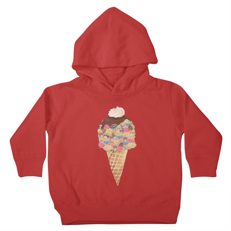 Tee Perfect Dessert Kids Toddler Pullover Hoody by Lost in Space