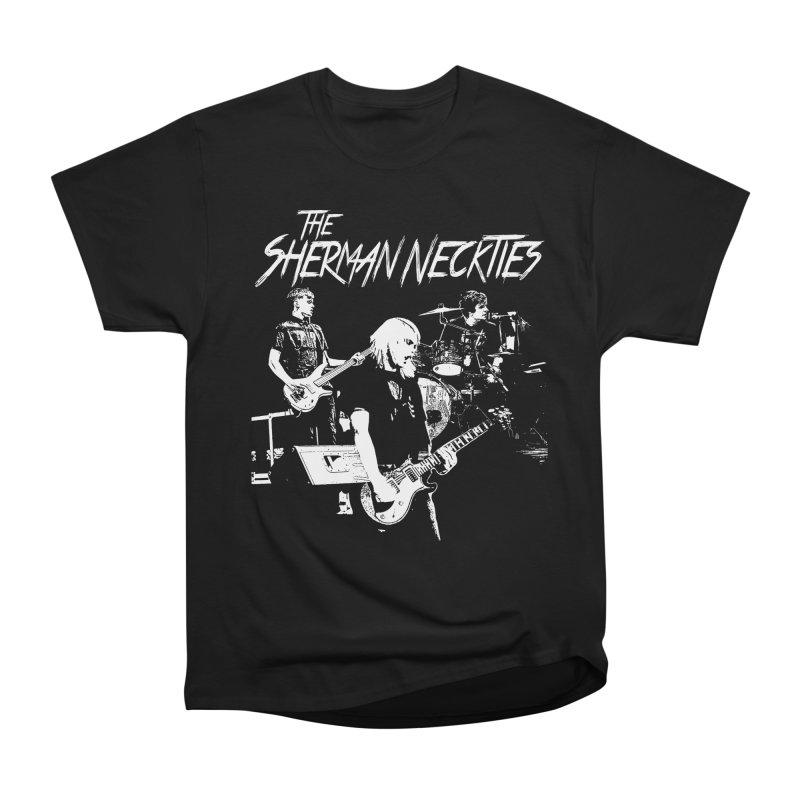 Full Band Logo Men's Heavyweight T-Shirt by theshermanneckties's Artist Shop