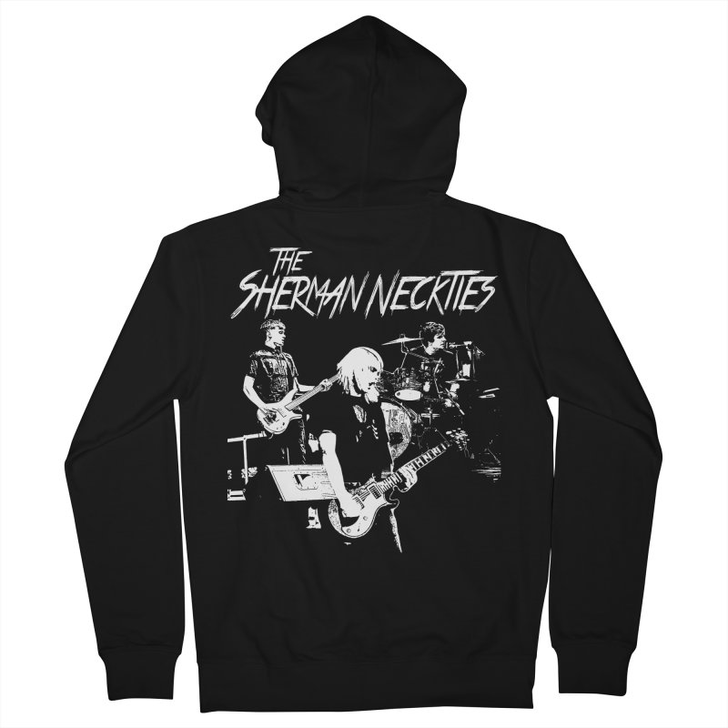 Full Band Logo Men's French Terry Zip-Up Hoody by theshermanneckties's Artist Shop