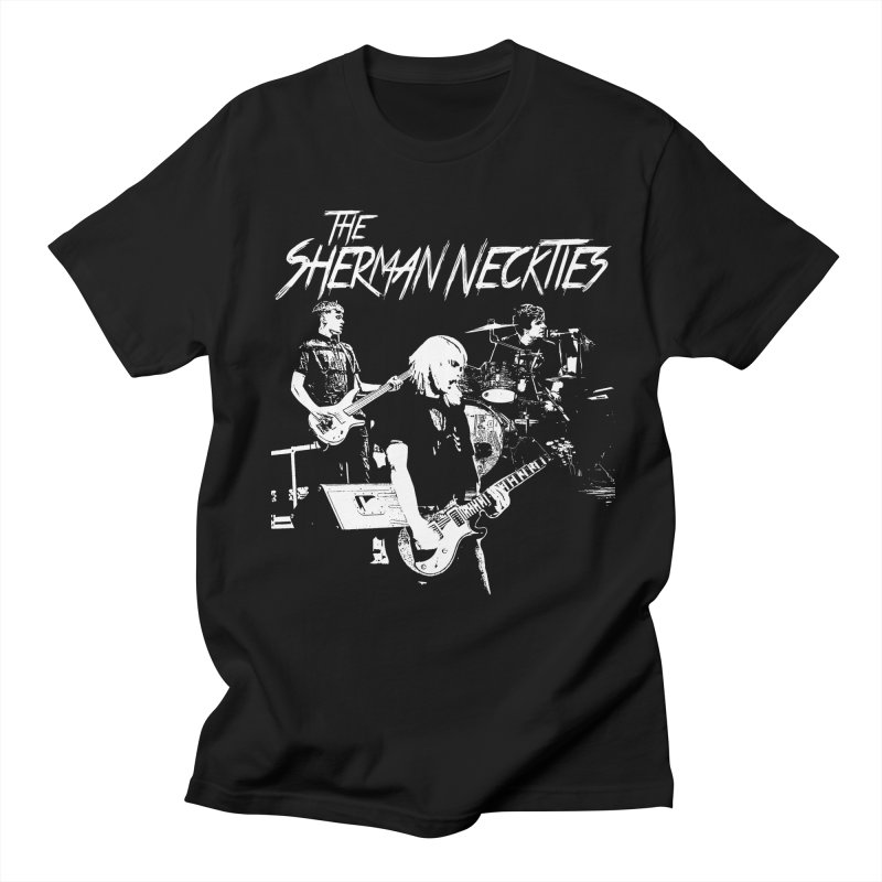 Full Band Logo Men's Regular T-Shirt by theshermanneckties's Artist Shop