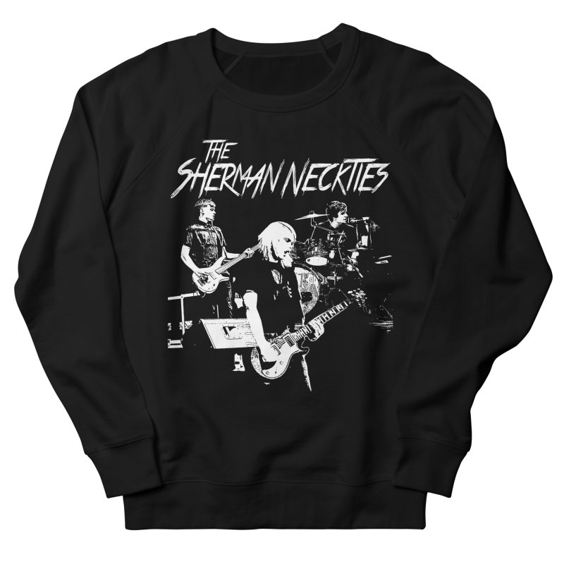 Full Band Logo Men's French Terry Sweatshirt by theshermanneckties's Artist Shop