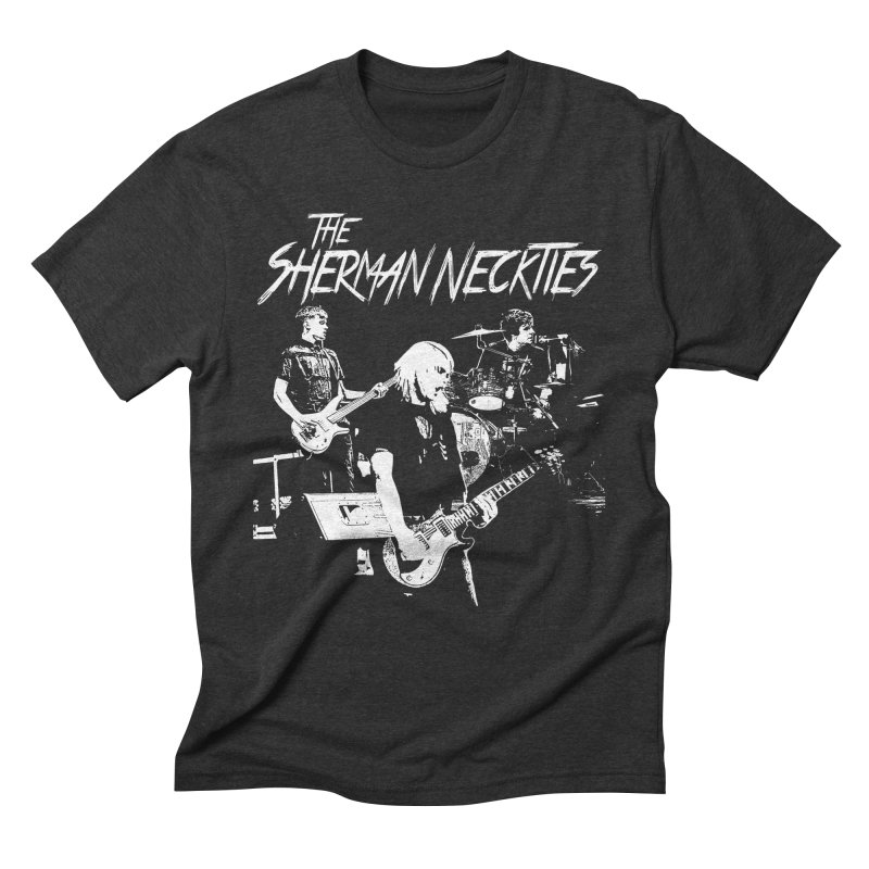 Full Band Logo Men's Triblend T-Shirt by theshermanneckties's Artist Shop