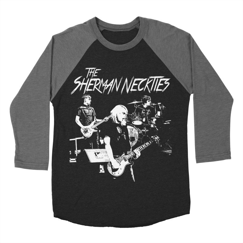 Full Band Logo Men's Baseball Triblend Longsleeve T-Shirt by theshermanneckties's Artist Shop
