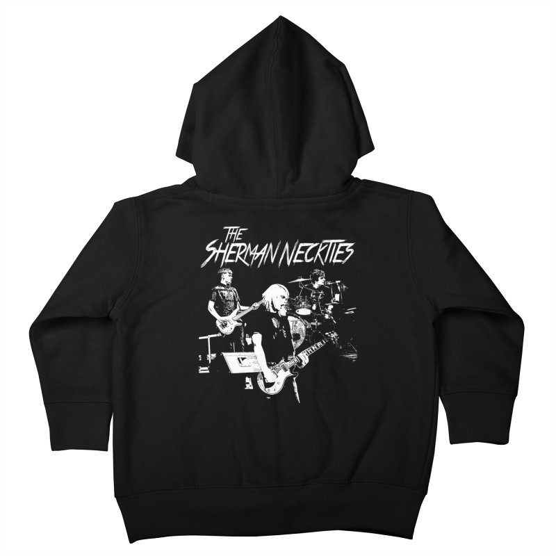 Full Band Logo Kids Toddler Zip-Up Hoody by theshermanneckties's Artist Shop