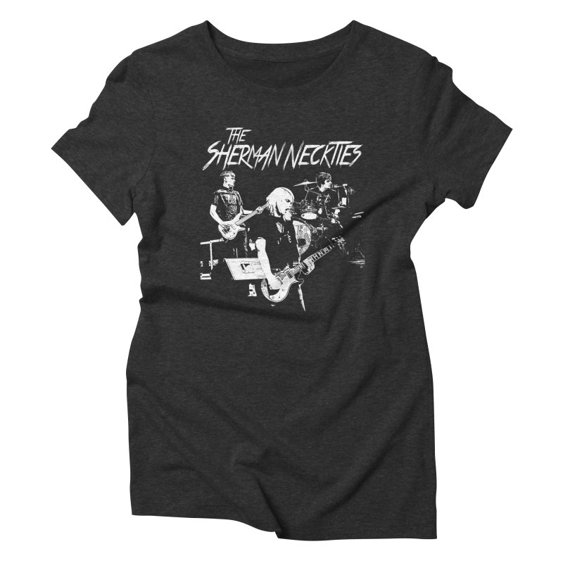 Full Band Logo Women's Triblend T-Shirt by theshermanneckties's Artist Shop