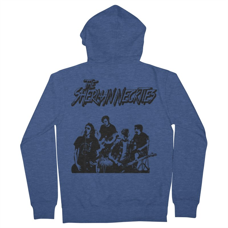2018 Women's French Terry Zip-Up Hoody by theshermanneckties's Artist Shop