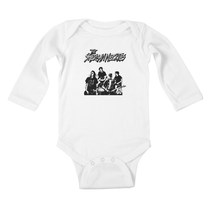 2018 Kids Baby Longsleeve Bodysuit by theshermanneckties's Artist Shop