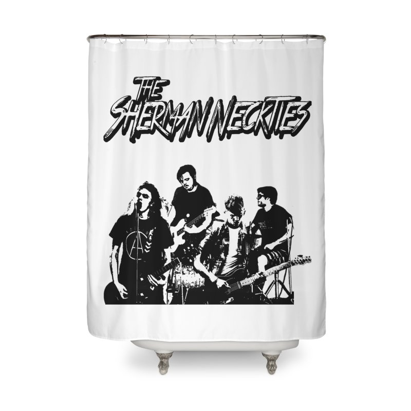 2018 Home Shower Curtain by theshermanneckties's Artist Shop