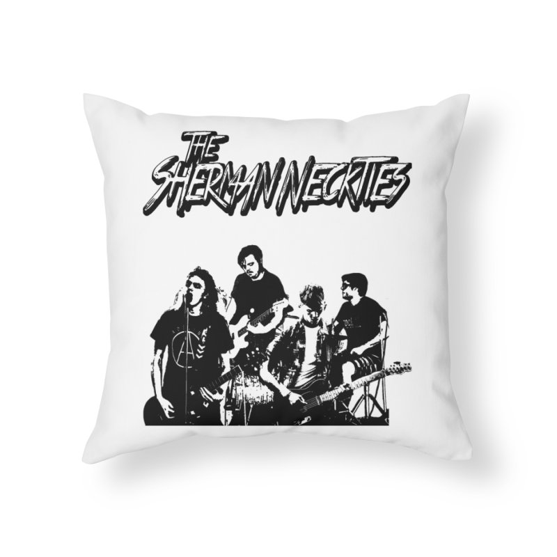 2018 Home Throw Pillow by theshermanneckties's Artist Shop