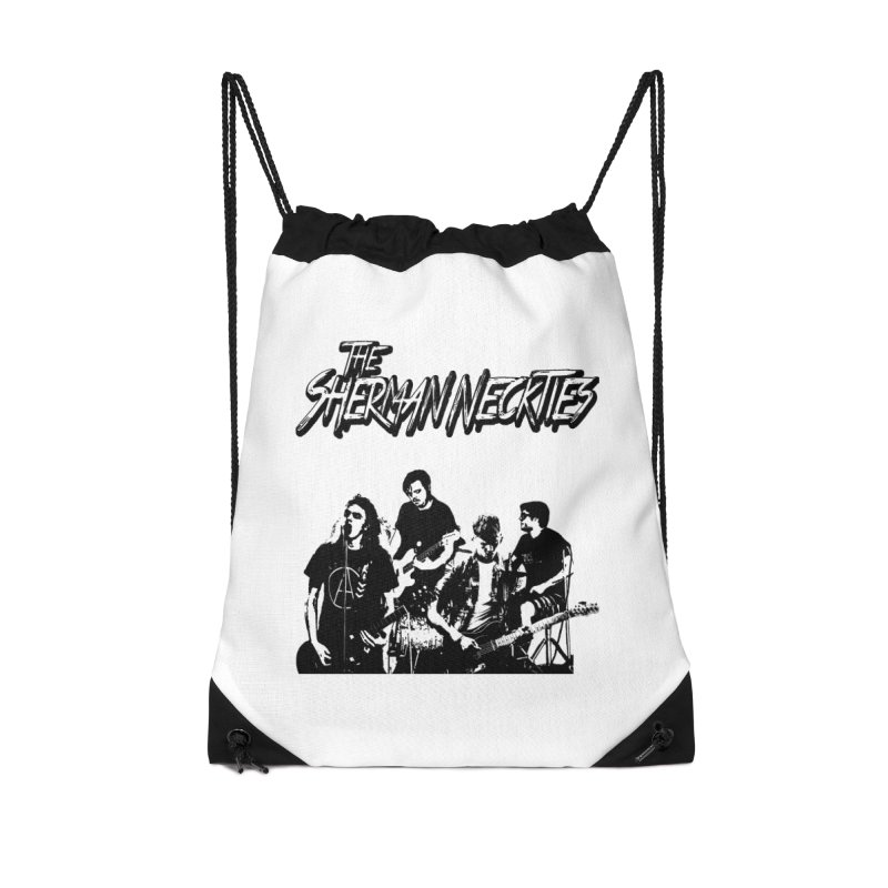 2018 Accessories Drawstring Bag Bag by theshermanneckties's Artist Shop