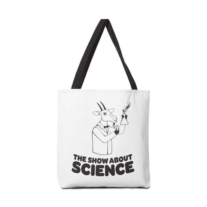E=MC Goat Accessories Bag by theshowaboutscience's Artist Shop