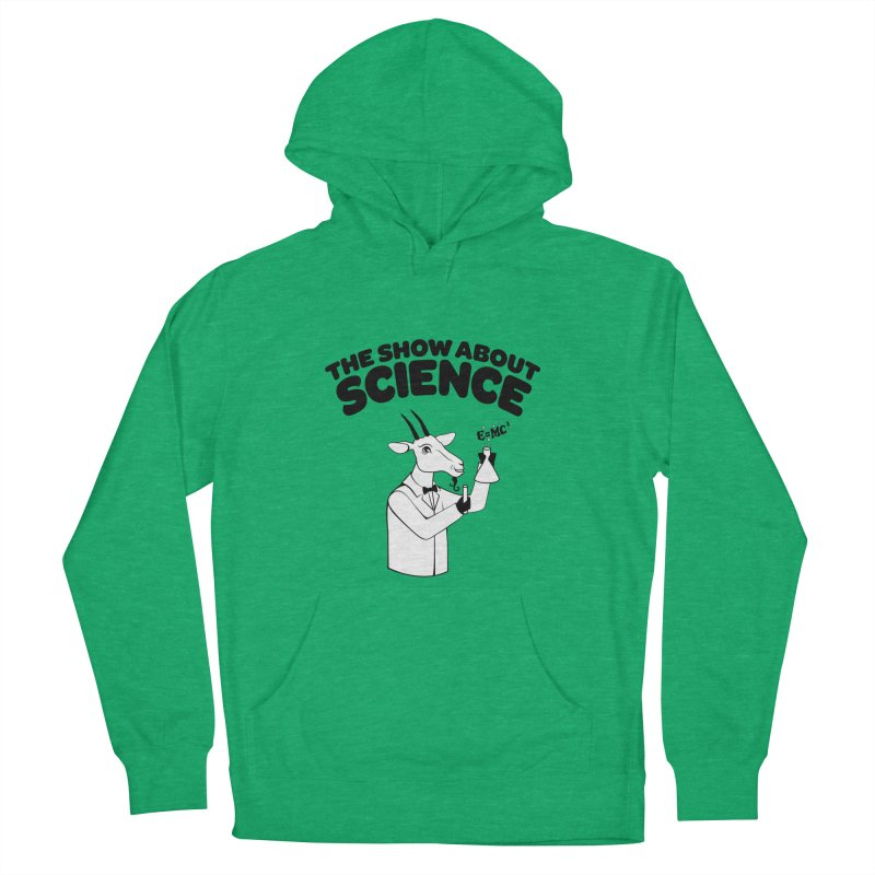 E=MC Goat Men's French Terry Pullover Hoody by theshowaboutscience's Artist Shop